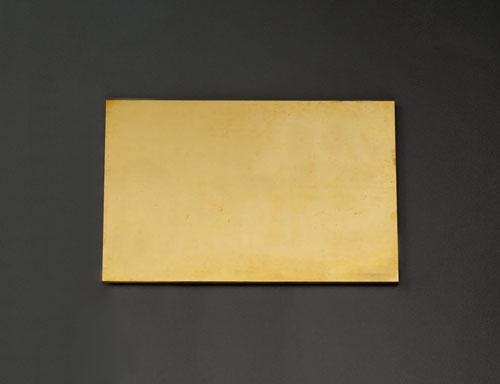 エスコ(ESCO) 300x200x7.0mm 黄銅板 EA441VB-71