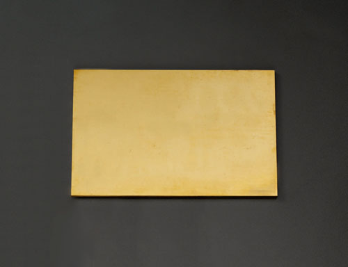 エスコ(ESCO) 600x300x7.0mm 黄銅板 EA441VB-74