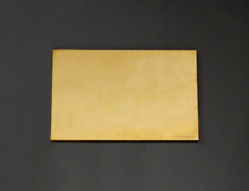 エスコ(ESCO) 600x300x8.0mm 黄銅板 EA441VB-84