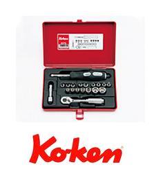 Ko-ken(コーケン) 6.35sq. ソケットセット 2275