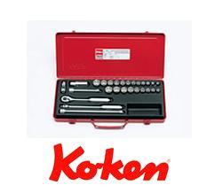 誠実 Ko-ken(コーケン) 9.5sq. 9.5sq. ソケットセット 3206AM 3206AM, グルメ本舗:f1c960c2 --- business.personalco5.dominiotemporario.com