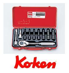Ko-ken(コーケン) 12.7sq. ソケットセット 4227M