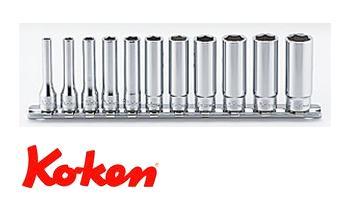 Ko-ken(コーケン) 6.35sq. 6角ディープソケットレールセット(mm) RS2300M/11