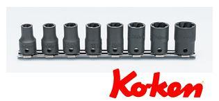 Ko-ken(コーケン) 9.5sq. ナットツイスターレールセット RS3127/8