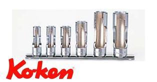 Ko-ken(コーケン) 9.5sq. フレアナットソケットレールセット RS3300FN/6