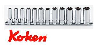Ko-ken(コーケン) 9.5sq. サーフェイスディープソケットレールセット RS3310M/12
