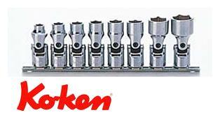 Ko-ken(コーケン) 9.5sq. 6角ユニバーサルソケットレールセット(mm) RS3440M/8