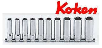 Ko-ken(コーケン) 12.7sq. 6角ディープソケットレールセット(mm) RS4300M/10