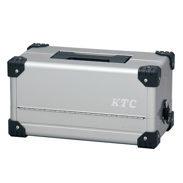 KTC(京都機械工具) 両開きメタルケース(シルバー) EK-10A