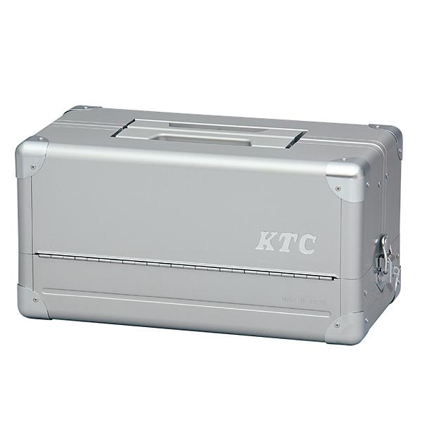 KTC(京都機械工具) 両開きメタルケース(シルバー) EK-1A【定価より40%オフ】