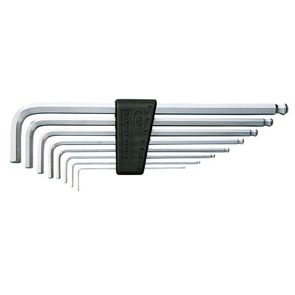 ハイグレードL型 KTC セット ロング六角棒レンチ HLD1509 9本組 (ケーテーシー)