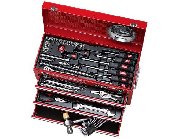 KTC(京都機械工具) 工具セット(チェストタイプ)インチサイズ SK3546BX