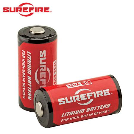 SUREFIRE 純正3Vリチウム電池 SF123A(1ケース/400個入)