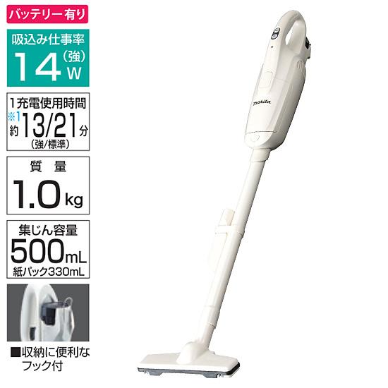 マキタ(makita) 充電式クリーナー(バッテリ・充電器付) 10.8V CL102DW