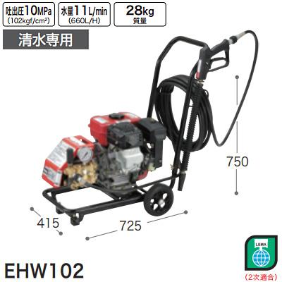 マキタ(makita) エンジン高圧洗浄機(清水専用) EHW102