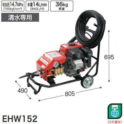 マキタ(makita) エンジン高圧洗浄機(清水専用) EHW152