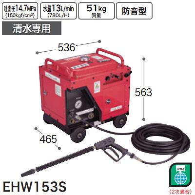 マキタ(makita) エンジン高圧洗浄機(清水専用) EHW153S
