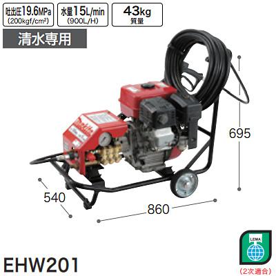 [[EHW201(7202)]]マキタ(makita)エンジン高圧洗浄機清水専用EHW201