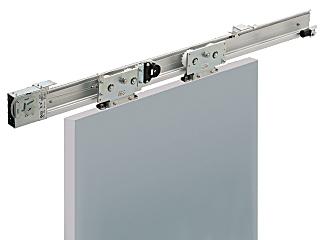 日東工器 スライディングクローザー 高荷重量鋼製扉仕様 900~1600mm 150~250kg NSC-C2525-31