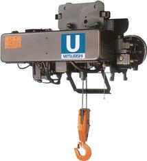 【直送】【代引不可】三菱電機 電気ホイスト Uシリーズ 1tX12m U2-1-HMH2