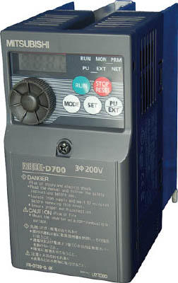 三菱電機 汎用インバータ FREQROL-D700シリーズ FR-D720-0.4K