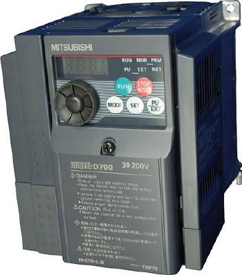 三菱電機 汎用インバータ FREQROL-D700シリーズ FR-D720-2.2K