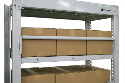 TRUSCO(トラスコ) TUF型オプション重量荷物用回転式落下防止装置 間口900mm用 TUF-RD3W