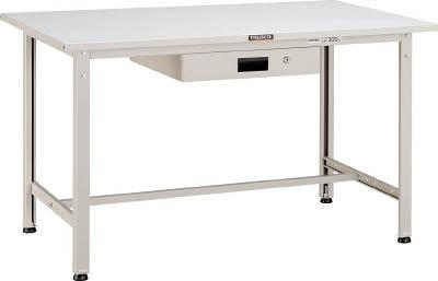 【直送】【代引不可】TRUSCO(トラスコ) AE型軽量作業台 スチール天板 1500X750XH740 薄型1段引出付 ダークグレー SAE-1500UDK1 DG