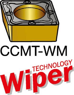 サンドビック コロターン107 旋削用ポジ・チップ 1025 10個 CCMT 09 T3 04-WM 1025
