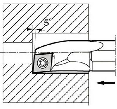 京セラ 内径加工用ホルダ S25S-SCLCR09-27A
