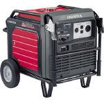 【直送】【代引不可】ホンダ 高性能インバーター発電機 超低騒音型 交流 セル付 EU55IS