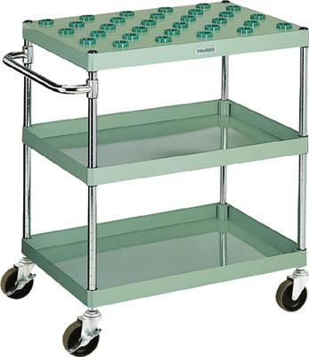 【特別セール品】 店 ツーリングワゴン 750X500X880 ホルダー30 GN:工具屋のプロ 緑 TW-822C TRUSCO(トラスコ) 3段-DIY・工具