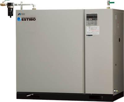 【直送】【代引不可】アネスト岩田 オイルフリーブースターコンプレッサ 7.5KW 60Hz CFBS75-20M6