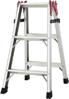 ハセガワ(長谷川工業) はしご兼用脚立(アルミ製) 0.81m RAX-09