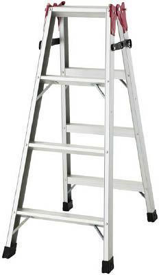 ハセガワ(長谷川工業) はしご兼用脚立(アルミ製) 1.11m RAX-12