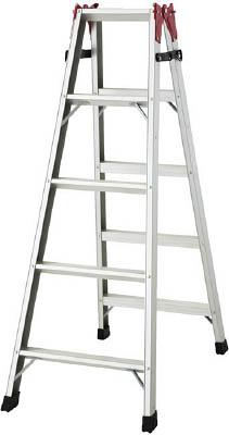 ハセガワ(長谷川工業) はしご兼用脚立(アルミ製) 1.40m RAX-15