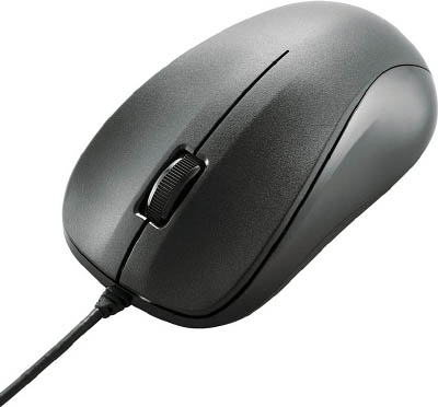 USB光学鼠标(M尺寸)黑色M-K6URBK/RS ELECOM(Elcom)