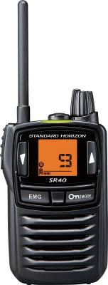 八重洲無線 特定小電力トランシーバー ブラック SR40BK