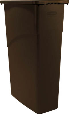 ラバーメイド スリムジムコンテナ ブラウン 354003