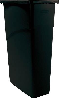 ラバーメイド スリムジムコンテナ ブラック 354007