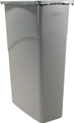 ラバーメイド スリムジムコンテナ グレイ 354075