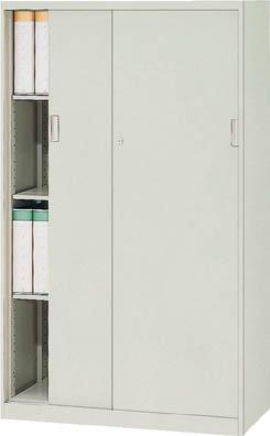 【直送】【代引不可】TRUSCO(トラスコ) ユニット書庫 奥行450 スチール引違 高さ1500 アジャスター付 US-15