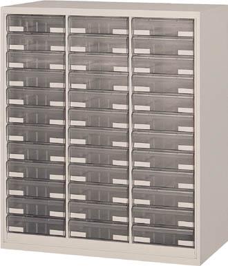 【直送】【代引不可】TRUSCO(トラスコ) ユニット書庫 奥行450 カタログケース 引出B4 深X36 UR-1132B