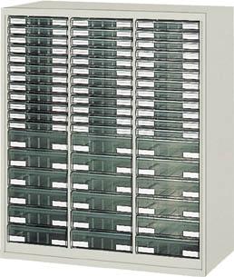 【直送】【代引不可】TRUSCO(トラスコ) ユニット書庫 奥行450 カタログケース 引出B4 浅X36深X18 UR-1138B