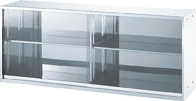 【直送】【代引不可】TRUSCO(トラスコ) ステンレスガラス扉保管庫 1800X500X720 STG5-7W