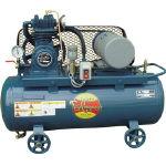 【直送】【代引不可】富士コンプレッサー 給油式レシプロコンプレッサー 0.75 FS-07MS 50HZ