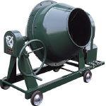 【直送】【】トンボ工業 グリーンミキサ 2切丸ハンドル 車輪モーター付 55L NGM-2BCM4
