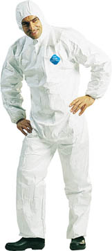 Tyvek protective clothing with a hood L TV-2 L DuPont (DuPont)