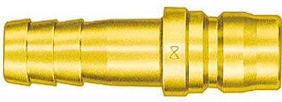 日東工器 TSP型カプラ ホース取付用プラグ 真鍮 BSBM-16TPH
