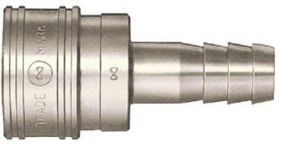 日東工器 TSP型カプラ ホース取付用ソケット 鋼 鉄 16TSH
